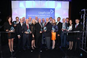 Joe Hughes, Chairman and CEO of SCB Inc. among the winners