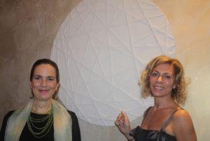 Giorgia Concato and Carola Syz, with Threads of Light.
