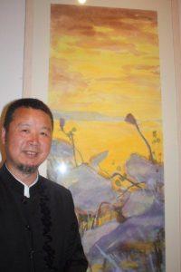 Chen Lixun with Lotus West Lake III.