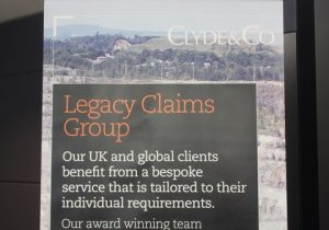 Clyde & Co legacy claims group.