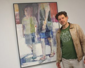 Christos Tsimaris with 'Mother and Child.'