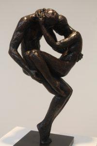 'Nine.' Bronze by Laurence Perratzi.