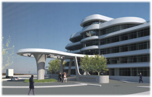 Artist's impressions of the new R255 million Port of Ngqura administration building scheduled for completion by the end of this year.