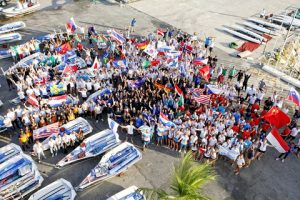 The 2015 Youth Worlds sailors