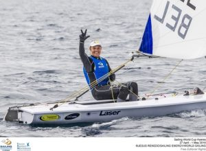 Three Hyeres wins in a row for Evi Van Acker.