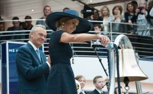 From the Christening with Queen Máxima. Elegant event celebrated Holland America Line's rich Dutch history steps from where the company was founded more than 143 years ago