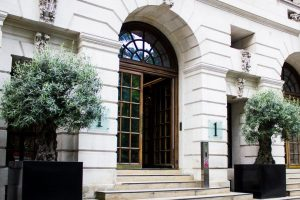 Welcome at firm's Finsbury Square headquarters.