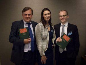 Stuart Beadnall, Joanne Champkins and Simon Moore.