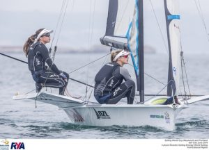 Alex Maloney and Molly Meech of New Zealand - picture credits: ©Jesús Renedo / Sailing Energy