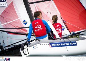 Ben Saxton and Nicola Groves