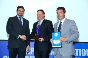 Best New Building Yard Award presentation ceremony