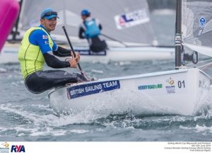 Giles Scott with another Finn triumph - picture credit: ©Jesús Renedo / Sailing Energy