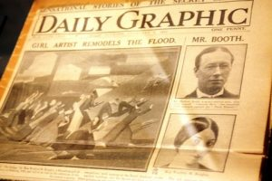 Daily Graphic story, April 1921.