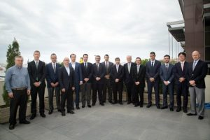 The LPGreen project partners from HHI, Wärtsilä, MAN Diesel & Turbo, CMM and DNV GL in Athens.