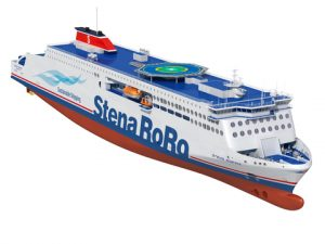 Stena Line's RoPax ferries will set a new industry standard when it comes to operational performance, emissions and cost competitiveness (Credit: Stena Line).
