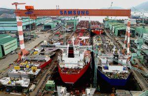 Samsung Heavy Industries - shipyard