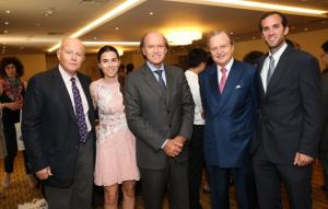 l to r: Nicolas Tsavliris, Claire N.Tsavliris, Andreas Tsavliris, George Tsavliris, Alexander A.Tsavliris