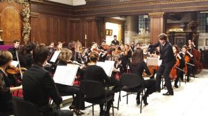 Youthful orchestral talent.