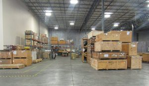 One portion GAC's 181, 000 square foot Foreign Trade Zone (FTZ) status warehouse space in Houston, which is dedicated to Pacific Drilling.