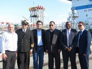 Representatives of TNPA, Aegean Bunkering Marine Services and Nelson Mandela Bay Municipality.