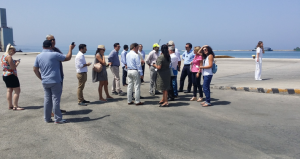 Onsite evaluation of the Port of Patras