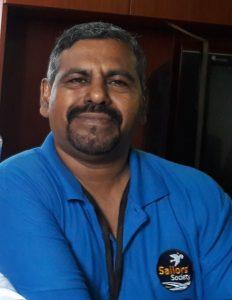 Manoj Joy, Sailors' Society's port chaplain in Chennai,