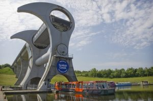 The Falkirk Wheel – The world's only rotating boat lift, which links the Forth & Clyde Canal to the Union Canal 35m (115ft) above, is a towering example of the innovative projects the World Canals Awards aims to celebrate.