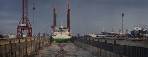 Thor at Damen Shipyards Dunkerque