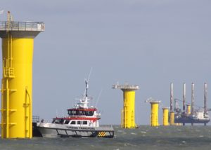 Work on the London Array off Ramsgate