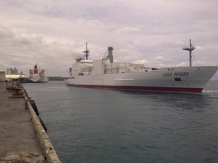 Cala Pevero  and Cala Piccola are to LSM vessels to have been inspected by Oceanic Technical Solutions