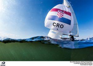 Croatian 470 team