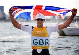 Giles Scott, Finn. Rio 2016 Olympic Sailing Regatta, 8-18 August 2016. Copyright © Richard Langdon & British Sailing Team