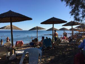A view of Magemena Beach