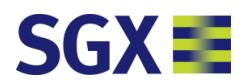 SGX SINGAPORE STOCK EXCHANGE LOGO