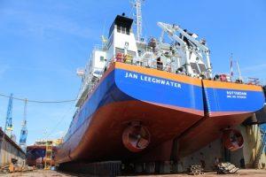Split Hopper Barge Jan Leeghwater