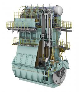 WinGD 5X72DF engine