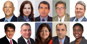 ALARYS 2016 speakers: (top row, from left) Ross Webber, Marian Fenton, Javier Mirabal, Brad Kading, Jorge Luzzi; (bottom row) Eduardo Fox, Elman Myers, Cinthia Motley, Marcelo Ramella and Janita Burke