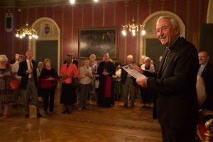 Cardinal Vincent Nichols at AoS reception 2016