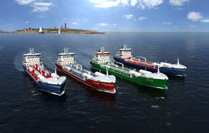 Wärtsilä will deliver a comprehensive scope of marine solutions from its own portfolio to four new LNG fuelled tankers for Swedish owners.