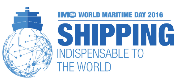 """""""As the World Maritime Day theme for 2016 so rightly acknowledges, shipping is indispensable to the world – and is set to remain central to world economic growth as we make the inevitable transition towards an era of clean and sustainable development,"""" said IMO Secretary-General Kitack Lim in his annual World Maritime Day Message."""