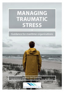 Managing Traumatic Stress Front Cover