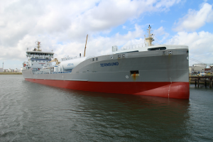 Terntank Rederi Tanker in operation