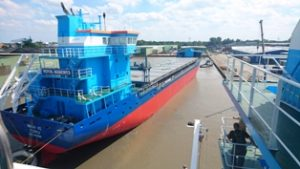 The Clarimar MF-1 is amongst an array of environmentally-safe equipments specified for  VG-Shipping's EcoCoasters Mirva VG and Eeva VG