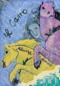 Alcina. Oil on canvas.