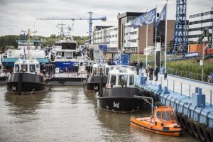 Another view from the Damen Workboat Festival