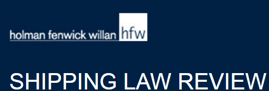 HFW SHIPPING LAW REVIEW 20161017
