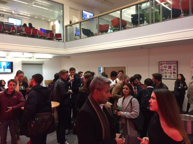 From the drinks and dips networking reception