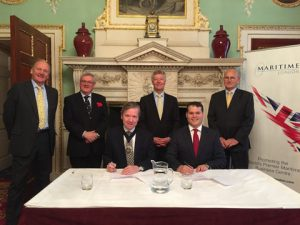 from the MoU signing at Mansion House