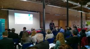 James Orlandi, Head of R&D Unit, Venice Port Authority, welcomes participants; Poseidon Med II Venice Workshop