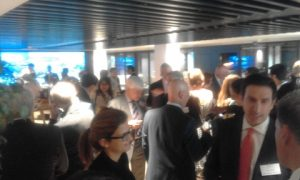 From the drinks and dips reception that followed... networking at its best!